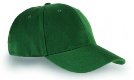 Czapka sześciopanelowa CZA006 - BOTTLE GREEN