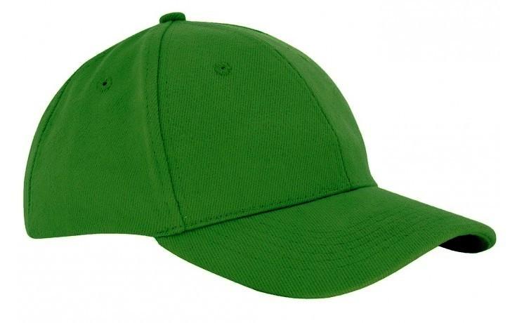 Czapka sześciopanelowa  CZA006 - KELLY GREEN