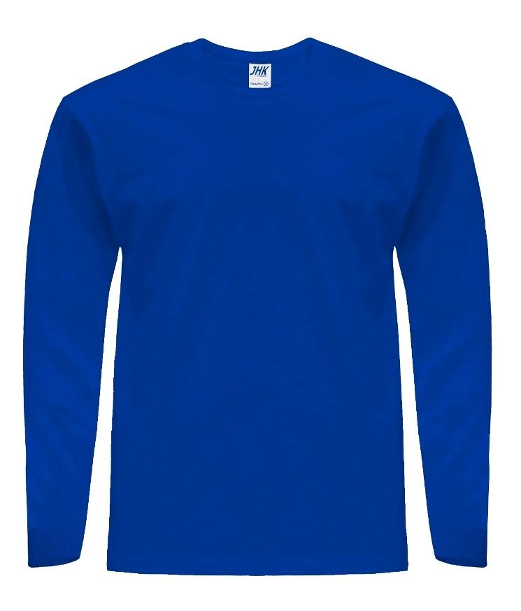T-Shirt JHK TSRA 170 LS ROYAL BLUE