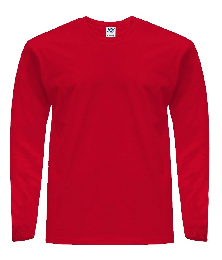 T-Shirt JHK TSRA 170 LS RED