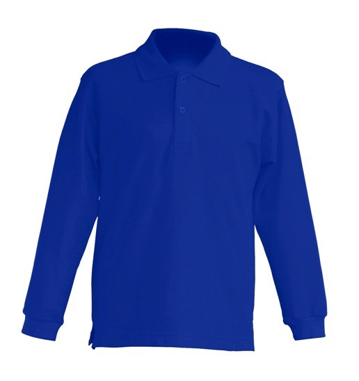 Polo KID LS JHK PKID 200 LS ROYAL BLUE