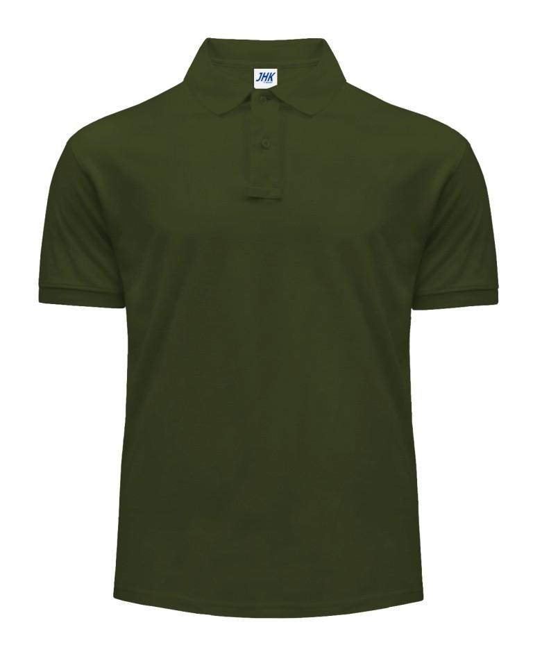 Polo męskie. PORA 210 FOREST GREEN