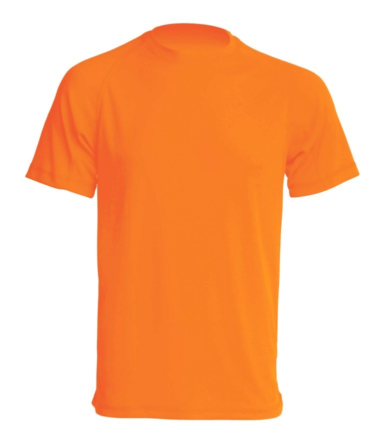 T-shirt JHK SPORT T-SHIRT MAN - ORANGE FLUOR