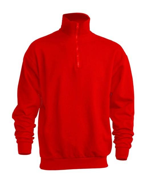 Bluza JHK SWRA ZIP RED