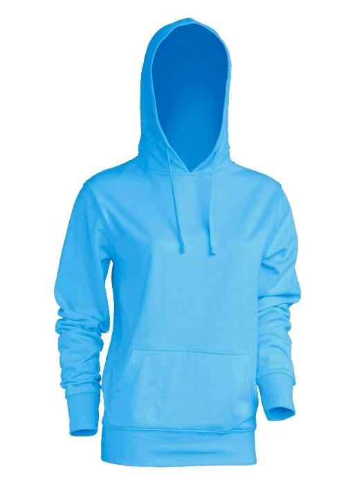 Bluza damska z kapturem SWUL KNG SKY BLUE