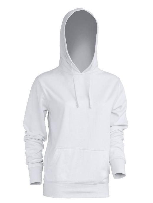 Bluza damska z kapturem SWUL KNG WHITE