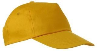 Czapka pięciopanelowa CZA001 - kolor GOLD