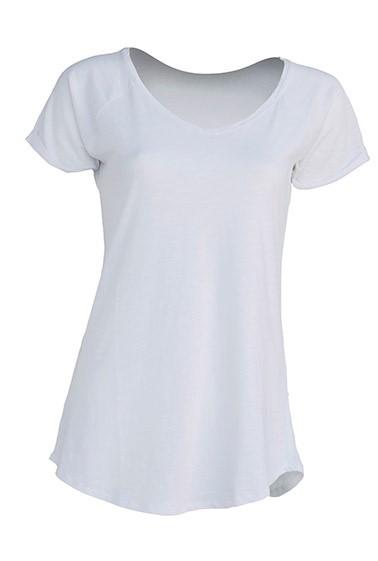 Damski T-shirt. URBAN SEA LADY. TSLSEA - WHITE