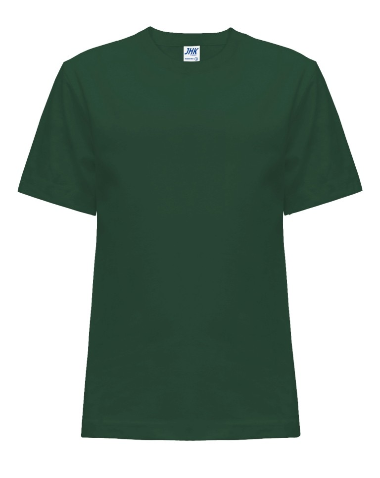 T-shirt JHK TSRK 150 BOTTLE GREEN