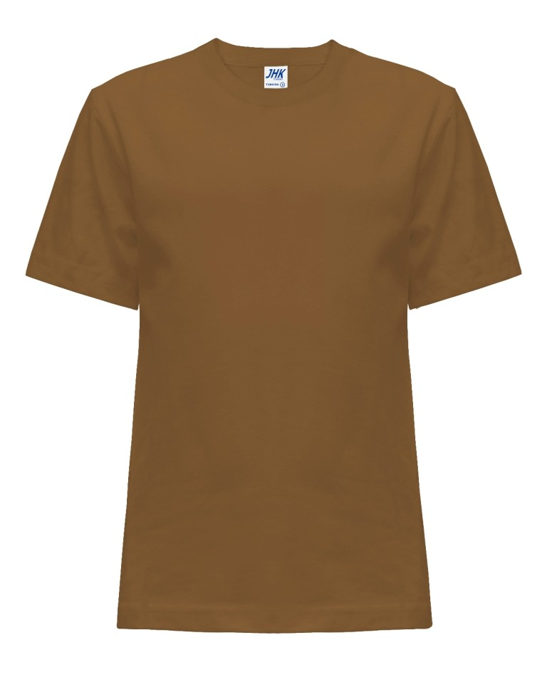T-shirt JHK TSRK 150 BROWN