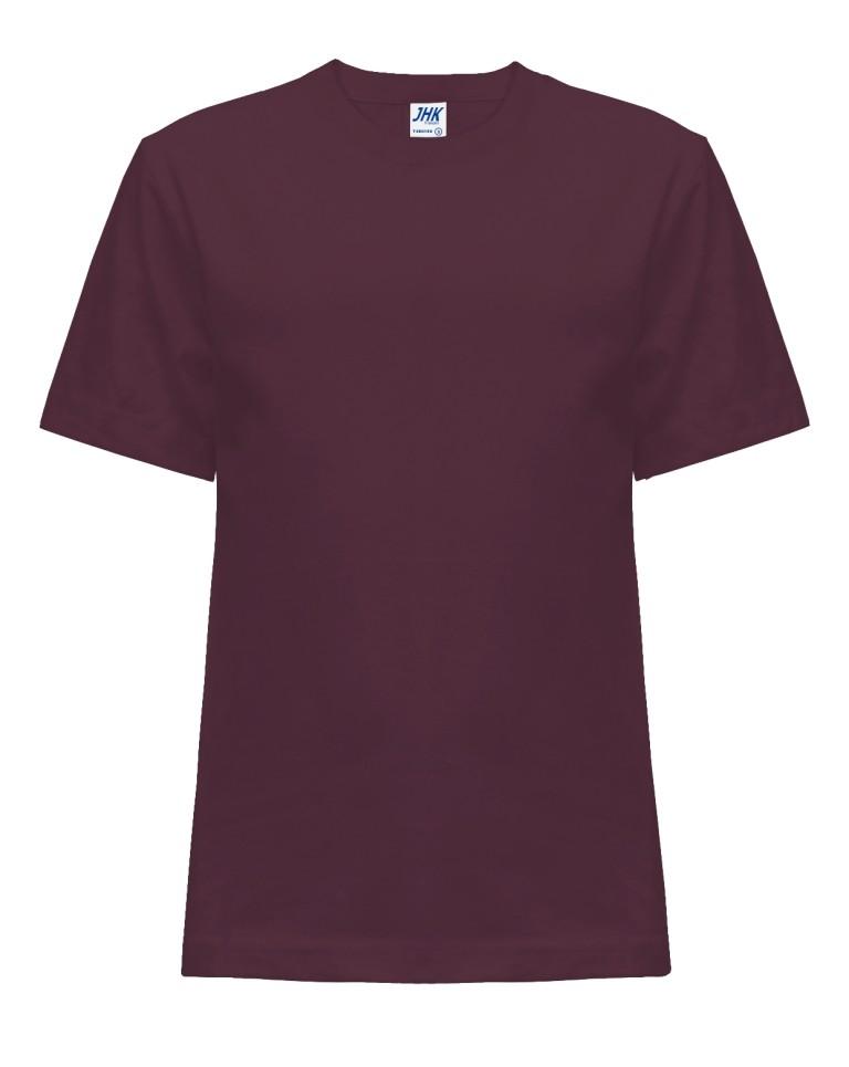 T-shirt JHK TSRK 150 BURGUNDY