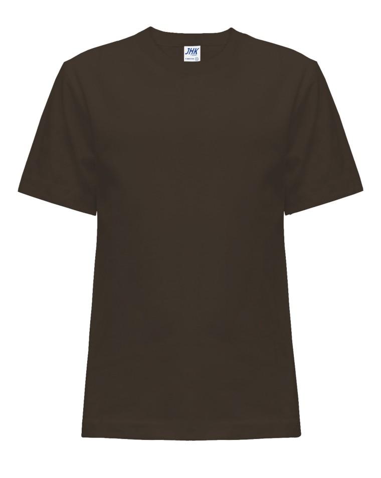 T-shirt JHK TSRK 150 CHOCOLATE