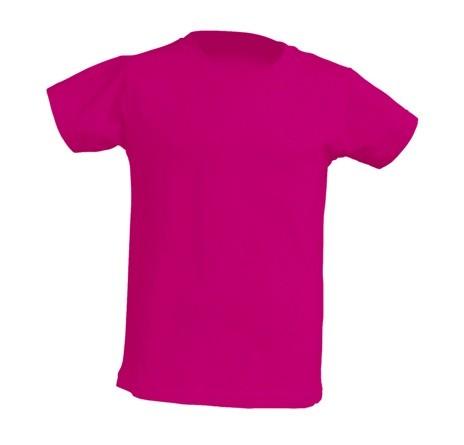 T-shirt BABY JHK TSRB 150 FUCSIA