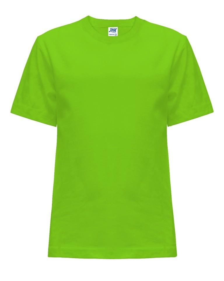 T-shirt JHK TSRK 150 LIME