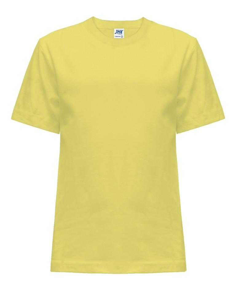 T-shirt JHK TSRK 150 LIGHT YELLOW