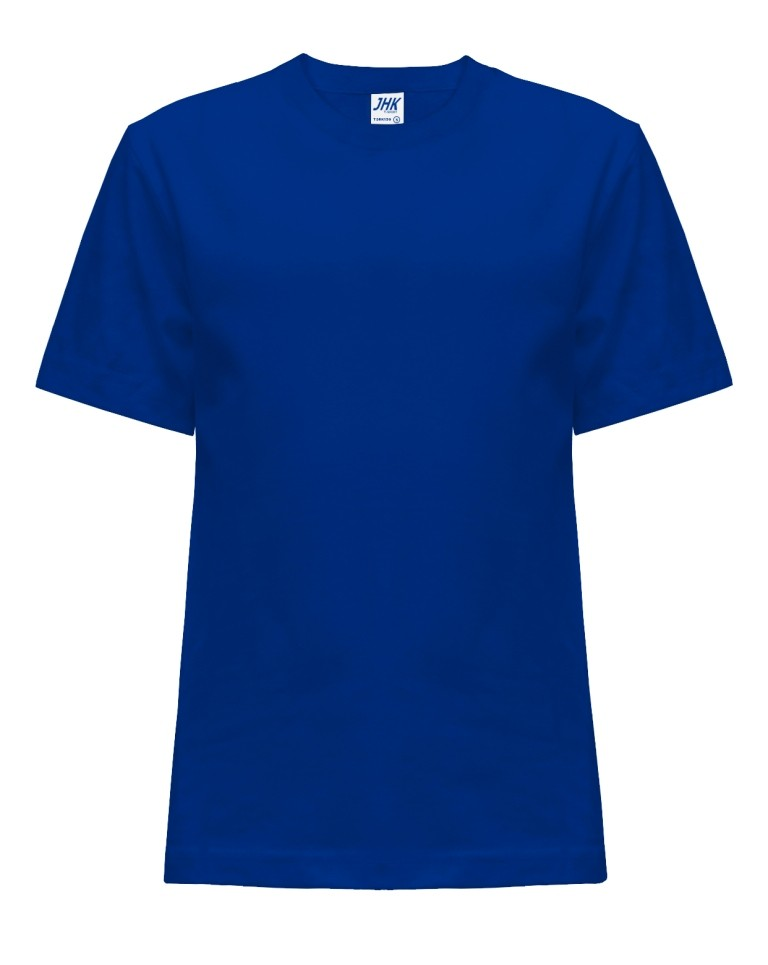 T-shirt JHK TSRK 150 ROYAL BLUE