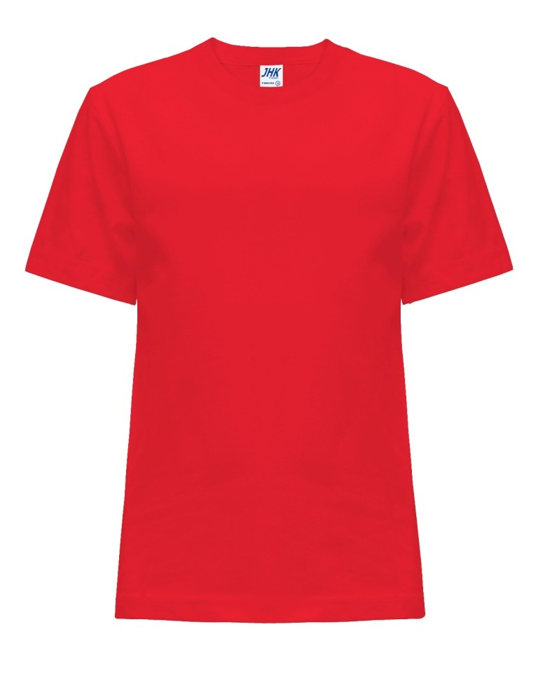 T-shirt JHK TSRK 150 WARM RED