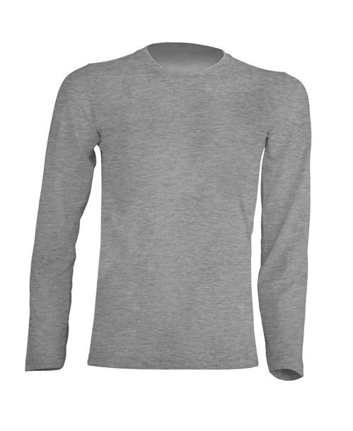 T-shirt KID LS JHK TSRK 150 LS GREY MELANGE