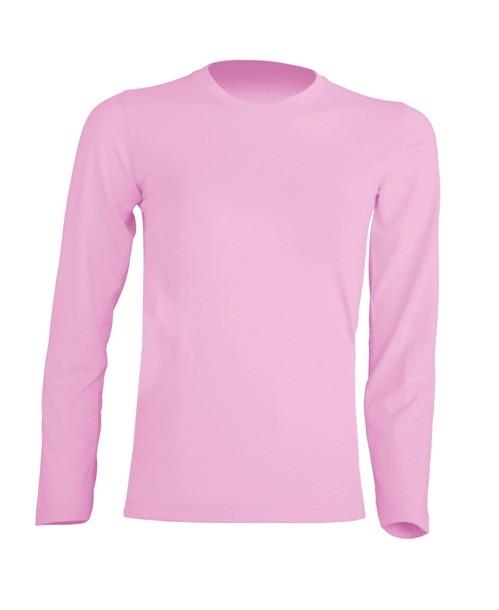 T-shirt KID LS JHK TSRK 150 LS PINK