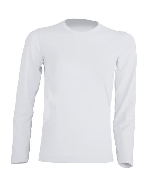 T-shirt KID LS JHK TSRK 150 LS WHITE