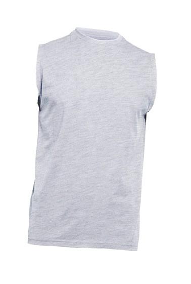 T-shirt męski bez rękawów JHK TSUA TNK ASH MELANGE