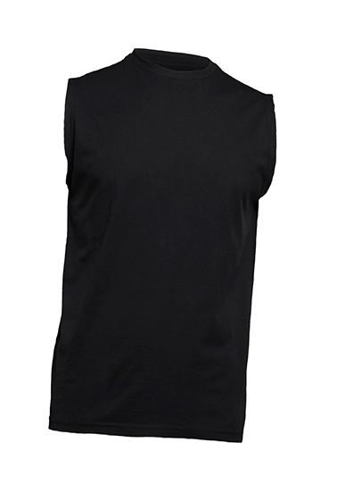T-shirt męski bez rękawów JHK TSUA TNK BLACK