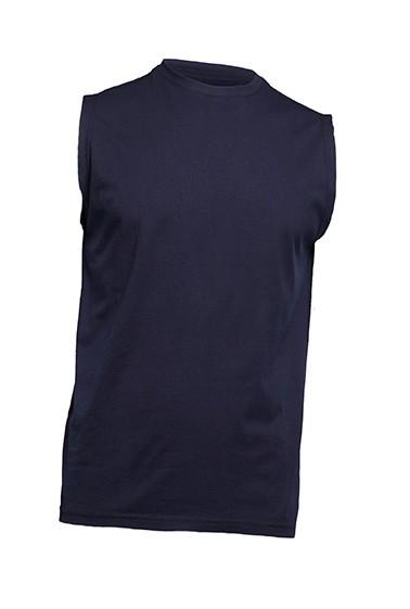 T-shirt męski bez rękawów JHK TSUA TNK NAVY