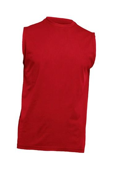 T-shirt męski bez rękawów JHK TSUA TNK RED