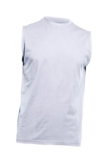 T-shirt męski bez rękawów JHK TSUA TRN WHITE