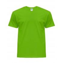 T-shirt JHK TSRA 150 - LIME FLUOR