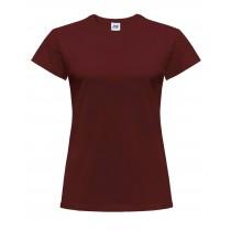 T-shirt damski JHK TSRLCMF - CARDINAL