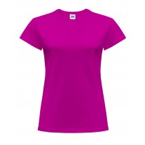 T-shirt damski JHK TSRLCMF - FUCSIA