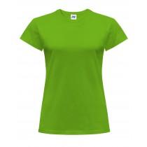 T-shirt damski JHK TSRLCMF - LIME