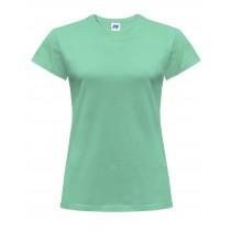 T-shirt damski JHK TSRLCMF - MINT GREEN