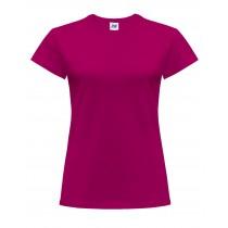 T-shirt damski JHK TSRLCMF - RASPBERRY