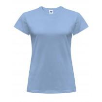 T-shirt damski JHK TSRLCMF - SKY BLUE