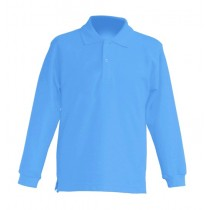 Polo KID LS JHK PKID 200 LS SKY BLUE