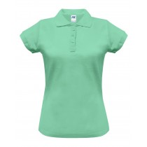 Polo damskie POPL 200 MINT GREEN