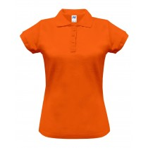 Polo damskie POPL 200 ORANGE