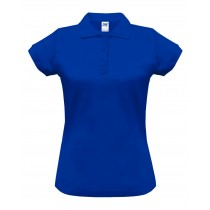 Polo damskie POPL 200 ROYAL BLUE