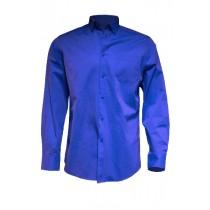 Koszula męska SHAOXF ROYAL BLUE