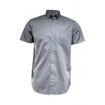Koszula męska z krótkim rękawem SHAOXFSS SILVER