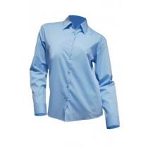Koszula damska SHLOXF  SKY BLUE