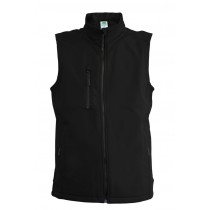SOFTSHELL VEST - BLACK