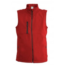 SOFTSHELL VEST - RED