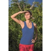 SPORT T-SHIRT JHK ARUBA LADY - ROYAL BLUE
