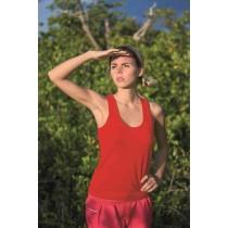 SPORT T-SHIRT JHK ARUBA LADY - RED