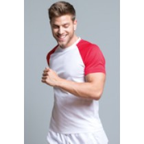 SPORT CONTRAST MAN - WHITE / RED
