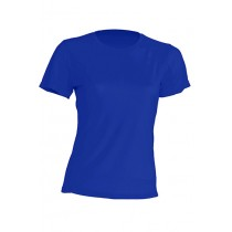 T-shirt JHK, damski sportowy - SPORT T-SHIRT LADY - ROYAL BLUE