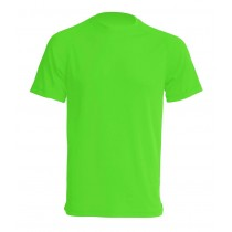 T-shirt JHK SPORT T-SHIRT MAN - LIME FLUOR
